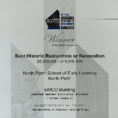 Best Historic Restoration or Renovation MBA Awards 2019