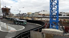 Wellington Street Bus port Piling